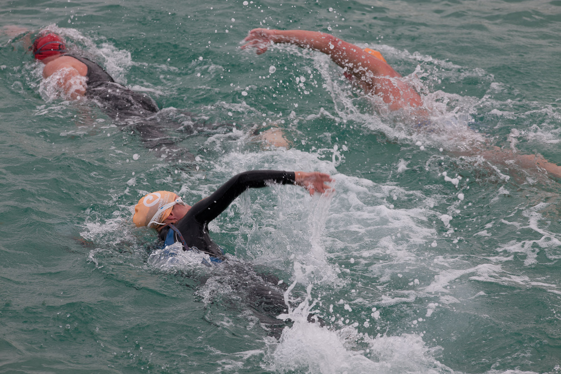 Open Water Swimming Triathlon